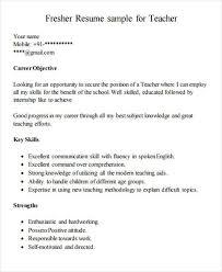 Best resume format guide for teachers. Free 42 Teacher Resume Templates In Pdf Ms Word