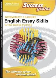 essay skills for intermediate and higher english writing  essay skills for intermediate 2 and higher english writing portfolio success guide amazon co uk dr christopher nicol 9781843728771 books