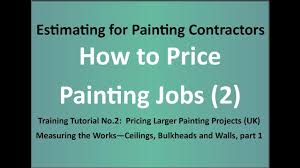 estimating training for painters how to painting jobs 2 larger contracts