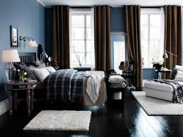 furniture color matching. Blue Boys Bedroom With Brown Drapes Furniture Color Matching