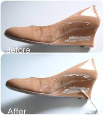 how to remove scuff stain from patent leather shoe