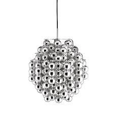 verner panton lighting. Verner Panton Ball Pendant Silver Lighting