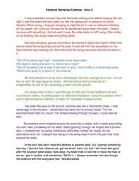high school personal narrative essay examples of essays  high school personal narrative essay examples of essays 791