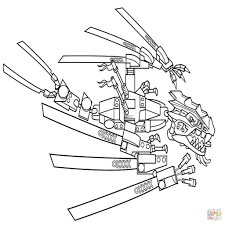 25 Printen Lego Ninjago Sensei Wu Kleurplaat Mandala Kleurplaat
