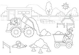 free construction coloring pages construction coloring pages construction coloring page free construction themed coloring pages free