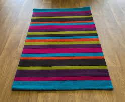 multi color stripe rug designs