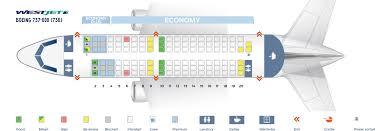 seat map boeing 737 600 westjet