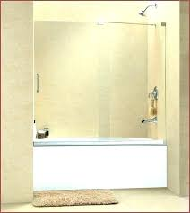 tubs with door sliding tub shower doors oil rubbed bronze