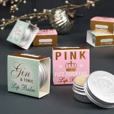 Lip balm wedding favours - Not on the High Street