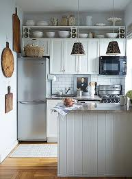 kitchen ideas for small kitchens. Contemporary Ideas 5 Chic Organization Tips For PintSize Kitchens  INSPIRE  Pinterest Kitchen Home Kitchens And Apartment Kitchen On Kitchen Ideas For Small E