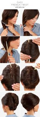 French Twist Hair Style best 25 chopstick hair ideas hairstyle try on 1008 by wearticles.com