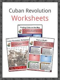 Santa Ana Seating Chart Ovo Cuban Revolution Facts Worksheets Cuban Crisis For Kids