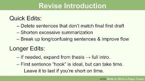 how to write a paper faster steps pictures wikihow image titled write a paper faster step 9