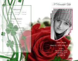 Free Funeral Templates Download LifecyclePrints Online Store 8