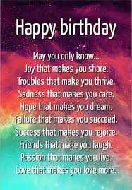 Happy Birthday Inspirational Quotes Cool 48 Best Encouraging Birthday Wishes And Famous Quotes Quotes Yard
