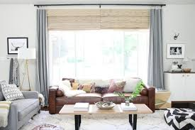 living rooms with brown furniture. Decorating, Living With, And Loving, A Brown Sofa Rooms With Furniture