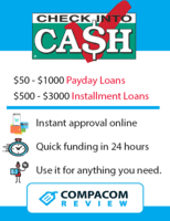 Check Into Cash Loan Chart Payday Loans For Bad Credit Complete Overview Compacom
