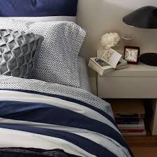 awesome stylish wrinkle free egyptian cotton navy and white duvet cover in navy and white duvet cover dfwago com