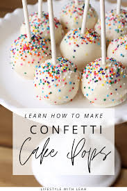 From seasonal flavors to everyday classics, roll up these treats on your claremont united methodist church made headlines in the past for nativity scenes depicting children in cages and the holy family experiencing homelessness. How To Make Confetti Cake Pops Lifestyle With Leah