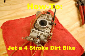 2006 Crf450r Jetting Chart How To Jet A 4 Stroke Dirt Bike How To Motorcycle Repair
