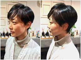 量が多いくせ毛の方に柔らかい質感のショートヘア西荻窪美容室living