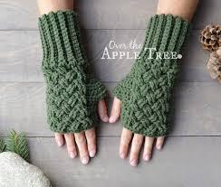 Crochet Gloves Pattern Gorgeous Over The Apple Tree Celtic Weave Fingerless Gloves Free Pattern