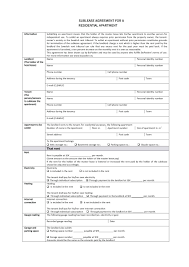 Apartment Sublease Template Template Apartment Sublease Agreement Template Printable Lease