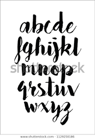 Letters In Design Letter Design Typography Alphabet Font Vector Stock Vector