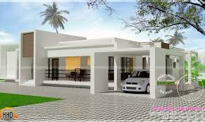 Smart placement single houses ideas contemporary single storied luxury home kerala design floor