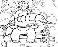 Giochi Di Masha E Orso Da Colorare Colorare