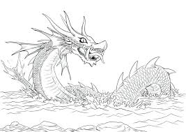 Here Are Dragons Coloring Pages Pictures Look Free Coloring Pages Of