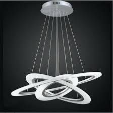 rings of modern led chandelier inside white modern chandelier remodel white and gold modern chandelier
