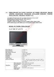 İda KL42CS31QH 42''LCD TV Televizyon - Kullanma Kılavuzu - Sayfa:12 -  ekilavuz.com