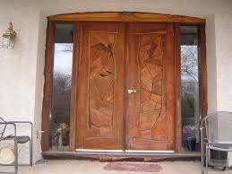 Front Doors Trendy Hardwood External Front Door Solid Oak Front - Hardwood exterior doors and frames