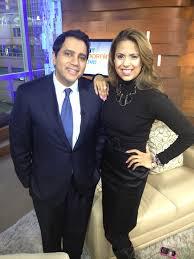 Dr. Joti Samra talking with CTV's Aamer Haleem about Bell's 'Let's ...