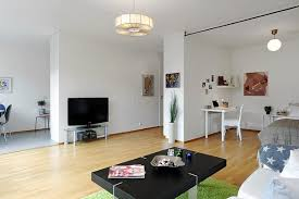 40 Small One Room Apartments Featuring A Scandinavian Décor New One Room Apartment Interior Design