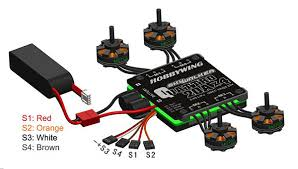 hobbywing 25ax4 skywalker quadcopter esc omgfly Bec Wiring A Quadcopter With Bec Wiring A Quadcopter With #10 wiring a quadcopter with bec