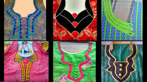 churidar neck models
