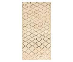 vintage moroccan beni ourain rug by nazmiyal rugs rugs