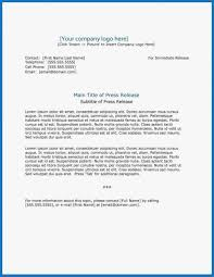Templates For Press Releases 014 Template Ideas Press Release Content Marketing Free