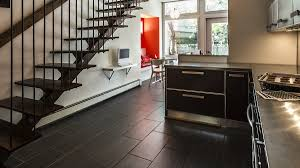 luxury vinyl plank flooring installed in north ina kitchen