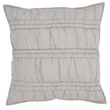 gray pillow shams. Unique Pillow Stalnaker 100 Cotton Euro In Gray Pillow Shams Y