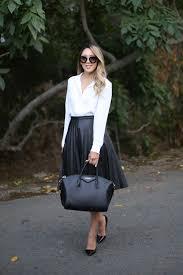 beyond basic blog j crew pleated leather midi skirt givenchy antigona louboutin