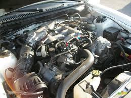 2000 Ford Mustang V6 Convertible 3.8 Liter OHV 12-Valve V6 Engine ...