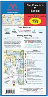 Maptech Waterproof Charts Maine San Francisco To Benicia Waterproof Chart Number 121