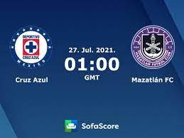 Cruz Azul - Mazatlán FC Live ticker ...