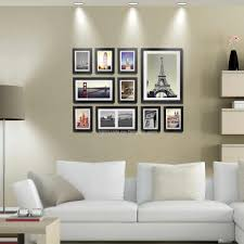 wood photo frame gallery wall modern style flat moulding border wooden picture frames with mounts 7 12 16 inch home decoration wall photo frame wood photo