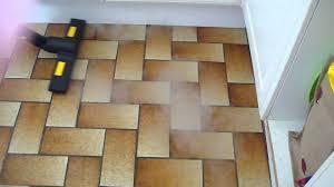 Kitchen Floor Steam Cleaner Steam Cleaning Kitchen Floor Youtube