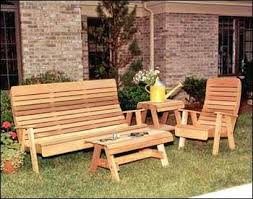 Creative Of Wooden Patio Table And Benches Cedar Wood Patio Set Cedar Wood Outdoor Furniture
