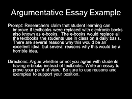 argumentative writing ppt video online  argumentative essay example